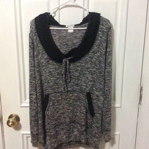 Women's Wet Seal hooded Tunic